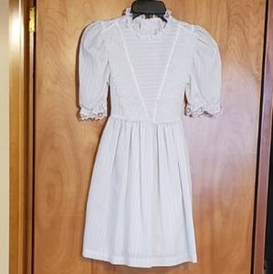 White Lace Girls Dress